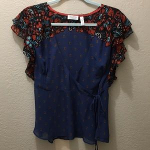Meadow Rue by Anthropologie size8 Blouse